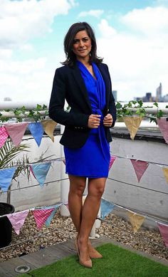 ITV Weather's Lucy Verasamy puts on leggy display flashing t.-ITV Weather's Lucy Verasamy puts on leggy display flashing toned pins Itv Weather Girl, Weather Girl Lucy, Hottest Weather Girls, Beautiful Celebrities, Gorgeous Women, Tv Girls, Fashion Model Poses, Sexy Legs And Heels, Dress And Heels