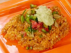 Latin Chicken and Rice Pot from FoodNetwork.com