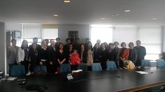 A delegation from China visited the New York State Department of Labor's Manhattan office today for a presentation on services offered for businesses and job seekers.
