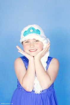 Frozen Princess Elsa Inspired Hat Crochet Pattern