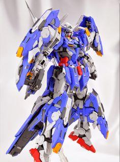 GUNDAM GUY: 1/100 Gundam Avalanche Exia - Customized Build