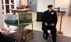 Old salt Ron with his sailing images. Sailing, Salt, Club, News, Candle, Salts