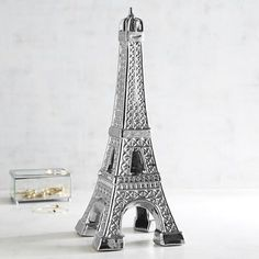 Silver Desk Accessories & Decor: 20 Elements For Your Office Sculpture Art, Sculptures, Paris Decor, Desk Accessories, Accent Pieces, Terracotta, Parisian, Ceramics, Tower