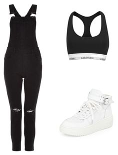 """""""Halsey Inspired Outfit #2"""" by phoenixevangeline ❤ liked on Polyvore featuring Calvin Klein and Ash"""