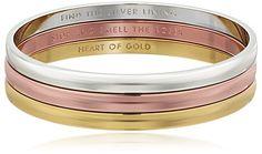 kate spade new york Metal Metal/Multi-Colored Bangle Bracelet...
