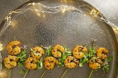 This recipe for Asian prawn skewers from Claire Hanley makes for the perfect festive canapé. Christmas Canapes, Christmas Recipes, Skewer Recipes, Wine Recipes, Prawn Skewers, Sweet Chilli Sauce, Asian, Food, Essen