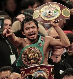 Manny Pacquiao essentially came out of nowhere and left a huge impression on boxing. Always exciting and always an event when he fights.