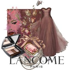 """""""LANCOME taupe craze"""" by moodycat on Polyvore"""