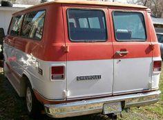 Classic Chevy van