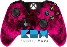 KwikBoy Modz | Pink Camotech Xbox One Controller   #KwikBoyModz #CustomController #Controller #XboxOne #XboxOneController #CamoTech #CustomXboxOneController