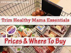 """Trim Healthy Mama """"Essentials"""" And Where I Buy Them"""