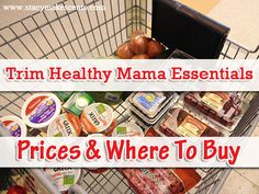 """Trim Healthy Mama """"Essentials"""" And Where Stacy Buys Them: if you don't have a Kroger, as I don't, this list isn't helpful on the local level, but is helpful for the things to purchase via internet order."""