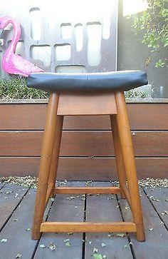 Vintage Retro Swivel Office Chair Boat Chair Vinyl Kendall Base   Retro  Furniture   Pinterest   Vinyl, Schiffe Und Vintage