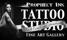 Prophecy Ink's tattoo and event information for award winning tattoo artists in Louisv