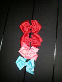 Bows I made.