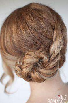 Seashell braid tutorial - Dutch fishtail braid tutorial