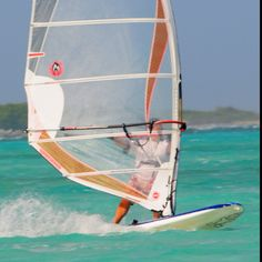 Windsurfing Bonaire - want to go here and want to do this