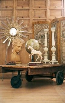 An eclectic mix of antiques