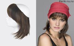 накладные волосы под шапку Sage