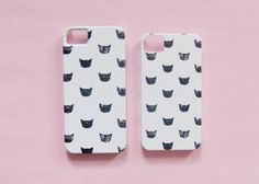 Carry your obsession with cats everywhere you go with this iphone case.