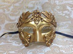 Masquerade Roman Wariior Collection   Gold by MasqueradeCollection