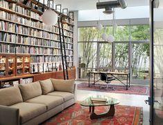 Talk about a dreamy live/work space! | A Brooklyn artist loft | BWArchitects