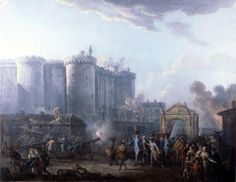 Arrestation du Gouverneur de la Bastille