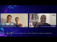 Van Jones, Brie Larson and Elijah Allan Blitz - Creative Arts Emmys 2020 Interview