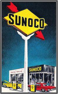 Sunoco 1964   by BACKYard Woods Explorer