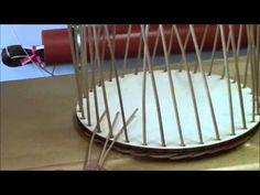 Peddigrohr basket weaving made easy - Pillow Hobbies And Crafts, Diy And Crafts, Crafts For Kids, Willow Weaving, Basket Weaving, Latch Hook Rugs, Rolled Paper, Old Newspaper, Rug Hooking
