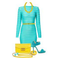 ~Yellow & Turquoise~