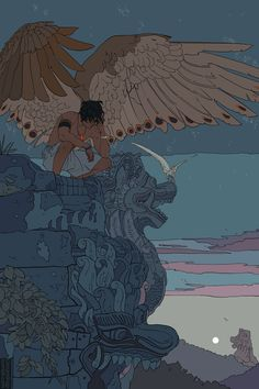 Cassandra Jean, unknown title, illustration, unknown size and date Kunst Inspo, Art Inspo, Fantasy Kunst, Fantasy Art, Anime Kunst, Anime Art, Art Sketches, Art Drawings, Art And Illustration