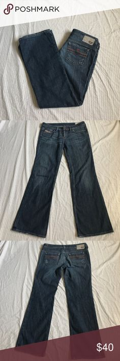 Diesel Bebel B.C. Jeans size 31 Jeans are in good condition there is some wear on the but region as shown in pictures and the price reflects this. Diesel Jeans Flare & Wide Leg