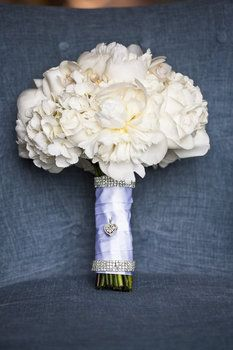 Hydrangea and peony bridesmaids bouquets. MY TWO FAVORITES