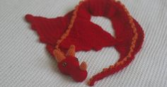 I searched Ravelry high and low for a Crocheted Dragon Scarf pattern but could not find any that I loved. There were lots of adorable...