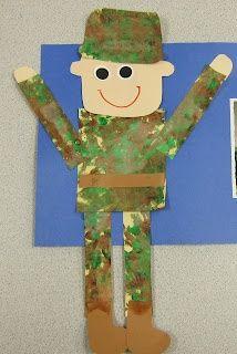 Veterans' Day-soldier craft