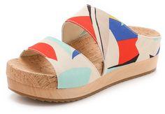 alice + olivia Brianna Flat Sandals