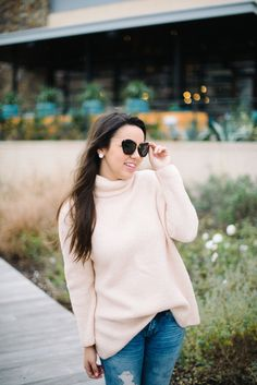 I love the color of this shirt! I've naturally gravitated towards blush and blue hues to begin with, so lucky for me, I already have a lot of these Pantone colors sprinkled throughout my closet to go with it!