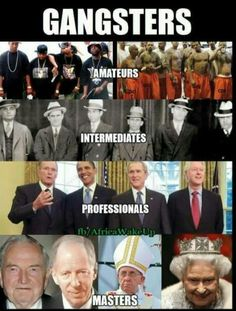 types of gangsters