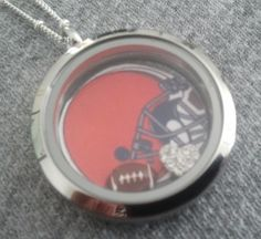 Goooo Browns!  Fall means Football! http://www.IrresistibleCharms.OrigamiOwl.com