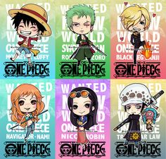 One Piece Chibis New World