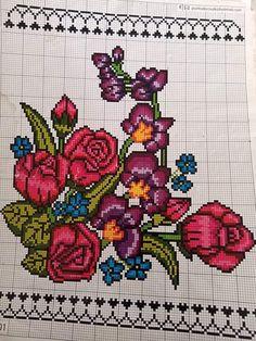 Cross Stitch, Diagram, Tapestry, Kids Rugs, Elsa, Create, Flowers, Cross Stitch Embroidery, Cross Stitch Heart