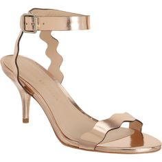 Dance in the Holiday Season with Mirrored Reina Sandals!  #designer #fashion  #shoes