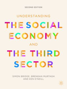 Understanding the Social Economy and the Third Sector book cover ©Palgrave Macmillan