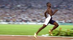 Michael Johnson and his running style