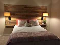 Gorgeous 60 Most Creative DIY Projects Pallet Headboards Bedroom Design Ideas co. Gorgeous 60 Most Creative DIY Projects Pallet Headboards Bedroom Design Ideas co… Gorgeous 60 Most Creative DIY Projects Pallet Headboards Bedroom Design Ideas /… Pallet Furniture, Bedroom Furniture, Headboard With Shelves, Diy Headboard With Lights, Bookcase Headboard, Headboard Designs, Headboard Ideas, Diy Rustic Headboard, Shiplap Headboard