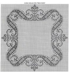 Ru / фото - 5 - punto croce monocromatico o filet Cross Stitch Boarders, Cross Stitch Alphabet, Cross Stitch Charts, Counted Cross Stitch Patterns, Cross Stitch Designs, Cross Stitching, Cross Stitch Embroidery, Hand Embroidery, Crochet Cross
