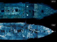 titanic wreck deterioration - Google Search