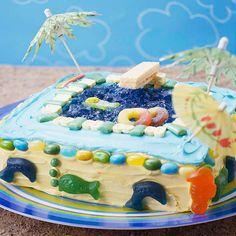Cool Pool Cake