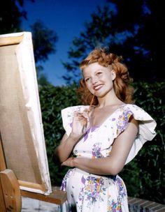 Rita Hayworth 1940's